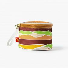 Buy New McDonald Big Mac Bag Purse Wristlet Limited Free Shipping