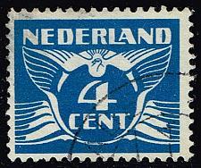 Buy Netherlands #171 Gull; Used (3Stars)  NED0171-04XRS