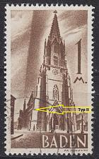 Buy GERMANY Alliiert Franz. Zone [Baden] MiNr 0013 yv I ( O/used )