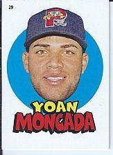 Buy Yoan Moncada 2016 Topps Heritage Minors Sticker