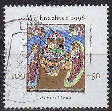Buy GERMANY BUND [1996] MiNr 1892 ( O/used ) Weihnachten