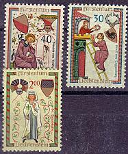 Buy LIECHTENSTEIN [1962] MiNr 0420 ex ( **/mnh ) [01] Minnesang