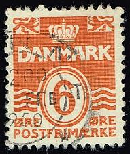 Buy Denmark #224C Numeral; Used (3Stars) |DEN0224C-05XRS