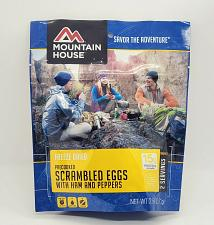 Buy Mountain House Scrambled Eggs with Ham and Peppers Factory sealed