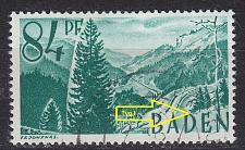 Buy GERMANY Alliiert Franz. Zone [Baden] MiNr 0012 yv I ( O/used )