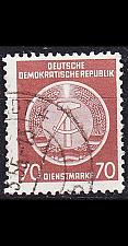 Buy GERMANY DDR [Dienst A] MiNr 0016 I ( OO/used )