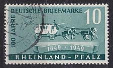 Buy GERMANY Alliiert Franz. Zone [RheinlPfalz] MiNr 0049 ( O/used ) [01]