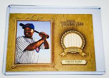 Buy MLB DARRELL WARD CHICAGO CUBS 2007 TOPPS TURKEY RED GAME-USED BAT RELIC MNT