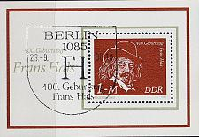 Buy GERMANY DDR [1980] MiNr 2547 Block 61 ( O/used ) Gemälde