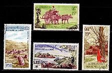 Buy LAOS [1960] MiNr 0105-08 ( O/used )