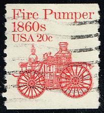 Buy US #1908 Fire Pumper; Used (0.25) (1Stars) |USA1908-05