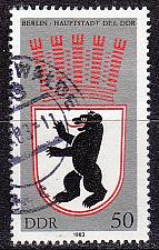 Buy GERMANY DDR [1983] MiNr 2817 ( OO/used ) Wappen