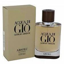Buy Acqua Di Gio Absolu Eau De Parfum Spray By Giorgio Armani