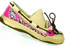 Buy Sperry Top Sider Women's Angelfish Pink Leopard Print Boat Deck Shoes Size 6 M