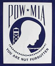 "Buy POW/MIA Stencil 14 Mil -17.5"" W X 14"" H - Painting/Crafts/Templates"