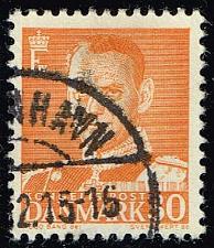 Buy Denmark #309 King Frederik IX; Used (0.80) (2Stars) |DEN0309-01