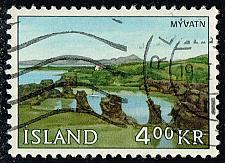 Buy Iceland #381 Myvatn; Used (0.35) (3Stars) |ICE0381-01XRS