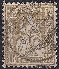 Buy SCHWEIZ SWITZERLAND [1862] MiNr 0028 ( O/used ) [01]
