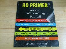Buy HO Primer Model Railroading Linn Westcott 1975 8th Printing Complete
