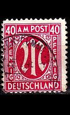 Buy GERMANY Alliiert AmBri [1945] MiNr 0030 c A ( O/used )