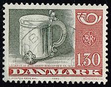 Buy Denmark #670 Silver Tankard; Used (4Stars) |DEN0670-01XBC