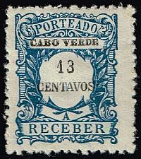 Buy Cape Verde #J28 Postage Due; Unused (3Stars) |CPVJ28-03XRS