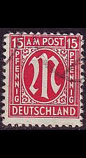 Buy GERMANY Alliiert AmBri [1945] MiNr 0008 ( O/used )