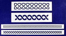 Buy Celtic Knot Border 4 Piece Stencil Set-Border-14 Mil -Painting/Crafts/Templates