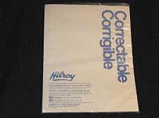 Buy Vintage Hilroy Erasable Bond Typing Paper Correctable Canada 80 pgs NOS