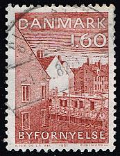 Buy Denmark #687 Urban Renaissance Year; Used (3Stars)  DEN0687-01XBC