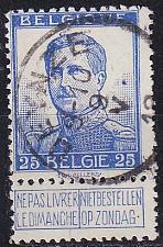 Buy BELGIEN BELGIUM [1912] MiNr 0102 I ( O/used )