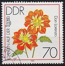Buy GERMANY DDR [1979] MiNr 2440 ( OO/used ) Blumen