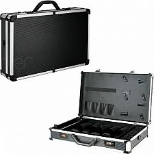 Buy Large Black Travel Clipper Trimmer Barber Tools Case Organizer Carrying Storage