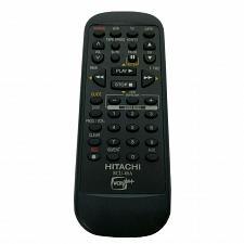 Buy Genuine Hitachi TV VCR Remote Control RCU-06A Tested Works