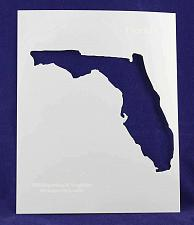 """Buy State of Florida Stencil 14 Mil 8"""" X 10"""" Painting /Crafts/ Templates"""
