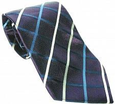 Buy Donald J Trump Signature Collection Men's Necktie 100% Silk Geometric Purple