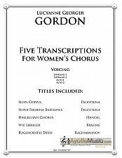 Buy Gordon - Five Transcriptions for Womens Chorus