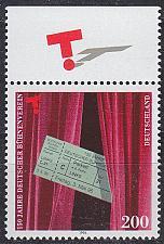 Buy GERMANY BUND [1996] MiNr 1857 ( **/mnh )