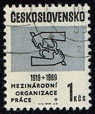Buy Czechoslovakia #1603 ILO Emblem; CTO (0.25) (4Stars) |CZE1603-01