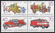 Buy GERMANY DDR [1987] MiNr 3101-04 4er ( OO/used ) Autos