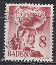 Buy GERMANY Alliiert Franz. Zone [Baden] MiNr 0031 y I ( O/used )