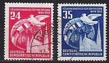 Buy GERMANY DDR [1952] MiNr 0320-21 ( OO/used )