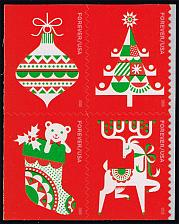 Buy US #5529a Holiday Delights Block of 4; MNH (5Stars) |USA5529a-04
