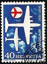 Buy SCHWEIZ SWITZERLAND [1956] MiNr 0626 ( O/used ) Flugzeuge