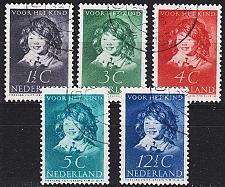 Buy NIEDERLANDE NETHERLANDS [1937] MiNr 0308-12 ( O/used )