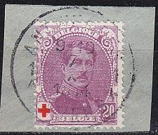 Buy BELGIEN BELGIUM [1914] MiNr 0109 ( BStk ) [01] Rotes Kreuz