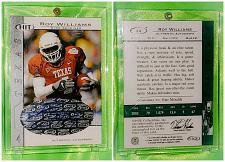 Buy NFL Roy Williams Autographed 2004 Sage Hit Rookie Mint