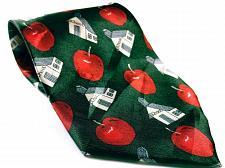 Buy School House Apple Education Men's Novelty Necktie