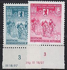 Buy GERMANY DDR [1955] MiNr 0470-71 ( **/mnh ) Sport