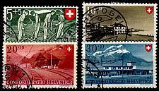 Buy SCHWEIZ SWITZERLAND [1947] MiNr 0480-83 ( O/used ) [03] Pro Patria